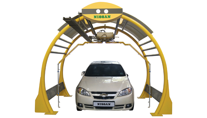 Automatic Car Wash System, India